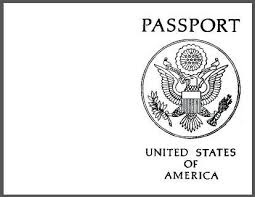 Passport Booklet Template Printable Blank Passport And All You Need To Know To Host Your Own