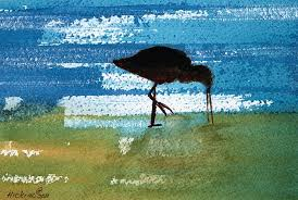 bird painting sea bird by charlotte hick