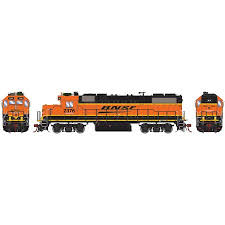 TWO/(2/) N Scale Trains GP38 GP-38 Locomotive Engine Bodies ...
