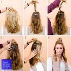 Как собрать волосы на макушке в прическу