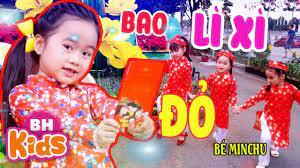 BAO LÌ XÌ ĐỎ ♫ Bé MinChu ♫ Nhạc Tết Thiếu Nhi Remix Sôi Động 2020   Kho nhạc  thiếu nhi hay nhất. - Kênh nhạc ru ngủ, nhạc thư giãn lớn nhất Việt Nam