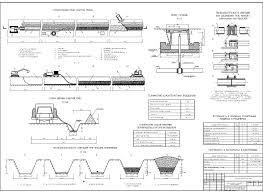 Монтаж подземного газопровода в полевых условиях