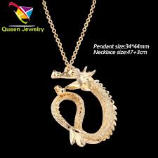 men jewelry gold color long chain necklace designs fashion best ing gold dragon pendant jewelry