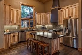 dark rustic cabinets. Image Of: Dark Rustic Hickory Cabinets