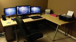 good shaped desk office. L Shaped Desk Ikea Plan Best All Office Pertaining To Good N