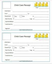 7 Daycare Invoice Templates Examples In Word Pdf