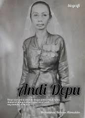 buku biografi Andi Depu
