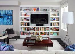 Bookshelves Living Room Magnificent 48 Interesting Ways To Add Bookshelves In The Living Room Home