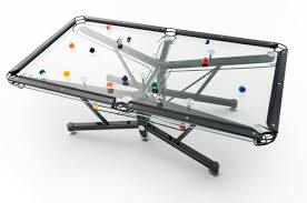 Nottage Design Pool Table Price The G 1 Clear Pool Table By Nottage Design The Vitrik