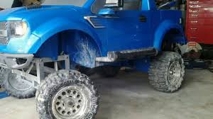 My first Truck Power Wheels Ford Raptor CUSTOM BUILT - YouTube
