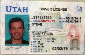 In Electronic Utah Driver License