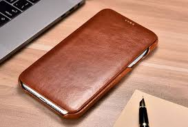 icarer iphone xs max curved edge vintage genuine leather case