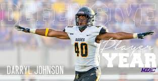 A&T's Darryl Johnson named MEAC Defensive Player of The Year - HBCU Gameday