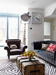 Retro Modern Living Room Remarkable On Pertaining To 20 Designs With  Elegant Family Friendly Decor 24
