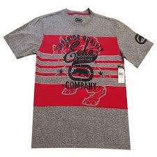 Details About Ecko Unltd Authentic Mens Crew Neck Short Sleeve Gray T Shirt Size Xl 70420