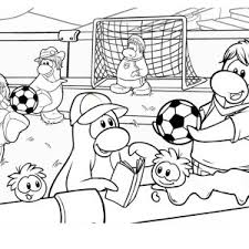 Small Picture A Group of Kids Playing Soccer in the School Yard Coloring Page A