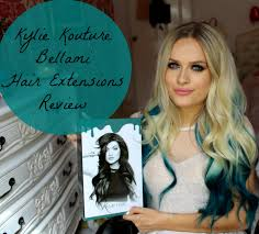 Kylie Jenner Hair Kouture Teal Hair Extensions By BELLAMI Review ...