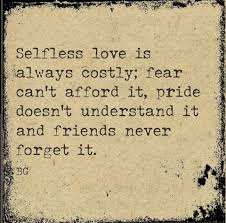 Selfless Love Quotes
