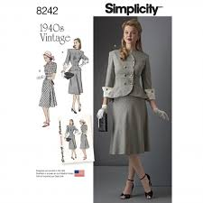 Simplicity Pattern Adorable Simplicity Pattern 48 Vintage 48's Women's and Plus Size Two