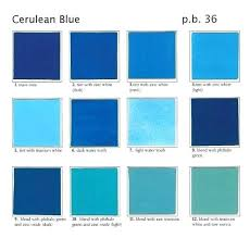 Shades Of Blue Paint Color Chart Color Shades Of Blue Madcreative Co