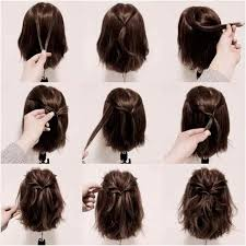 Chignon Decoiffe Cheveux Mi Long Beau Coiffure Mariage