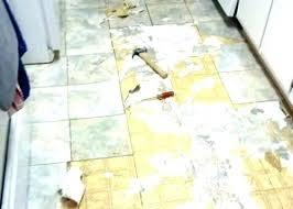 removing vinyl flooring pho r glue from wood ing s