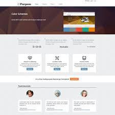 Ecommerce Website Templates Extraordinary Free Church Website Templates For Blogging And Ecommerce Mpurpose