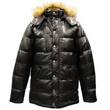 down the down jacket brand new men s outerwear blouson leather half leather leather jean leather