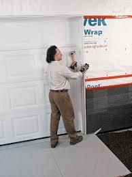garage door stop moldingInstalling an Overhead Garage Door