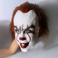 Celoobličejová Maska Od Stephana Kinga Joker Klaun Chytrý Nákup