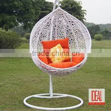 outdoor swing egg chair patio garden swing chairs living room hanging rattan egg chair