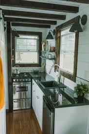 Tiny House Kitchen Custom Luxury Tiny House On Wheels By Tiny Heirloom Idesignarch