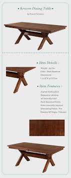 powell furniture kraven dining table
