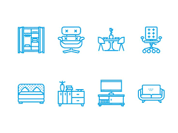creative furniture icons set flat design. modern furniture icon 191 best images about on pinterest logos behance and creative icons set flat design r