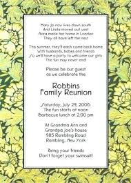 Family Reunion Flyer Templates Free Family Reunion Invitation Templates Free Printable The Best