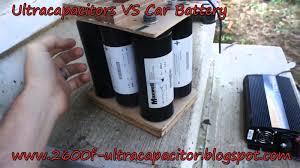 ☈ ultra capacitors vs car battery ☈ ☈ ☈ 2600f ultracapacitor ☈ ultra capacitor vs car battery