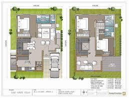 12 duplex house plans for 30x40 site east facing south classy design