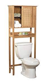 Image Wall Cabinet Image Unavailable Amazoncom Amazoncom Natural Bamboo Space Saver Bathroom Storage Space