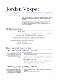 Gallery of waiter resume example
