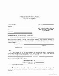 child visitation agreement form child support agreement template unique contempt court child custody