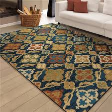 3837 5x8 orian rugs 3837 5x8 bright color medallion tuscan field 3837 5x8 orian rugs 3837 5x8 bright color medallion tuscan field blue area rug 53 76