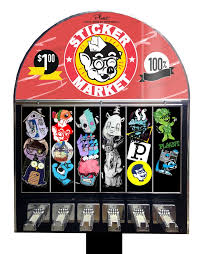 Sticker Vending Machines Delectable Sticker Market Vending Machine By PLAANT Kickstarter