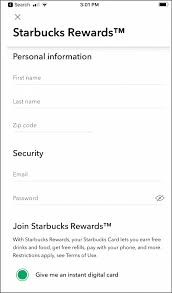 starbucks coffee with your social a