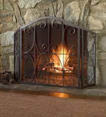Crest Tri Fold Fire Screen Fireplace Screensverified