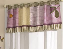 Window Valance Living Room Hall Window Valances With Small Purple Curtain And Small Glass