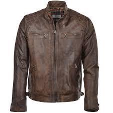 leather biker jacket timber bronx