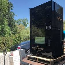 Champagne Vending Machine Interesting Chrissy Teigen Sent Kris Jenner Champagne Vending Machine