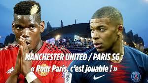 PSG vs Manchester United : «Pour Paris, c'est jouable en huitième de la Ligue  des champions» - YouTube