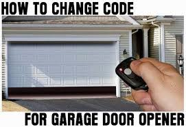 change garage door codeclicker garage door opener change code 11  Gallery Image and