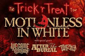 Motionless In White We Came As Romans After The Burial